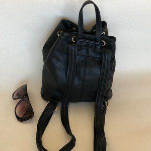Deux Lux Bags - Deux Lux Black Backpack - Knapsack